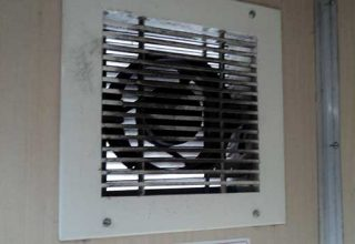 cleaning the exhaust fan
