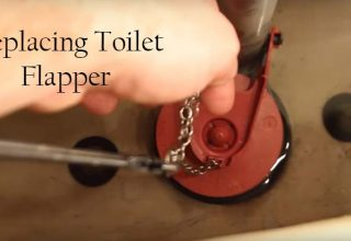 replacing toilet flapper